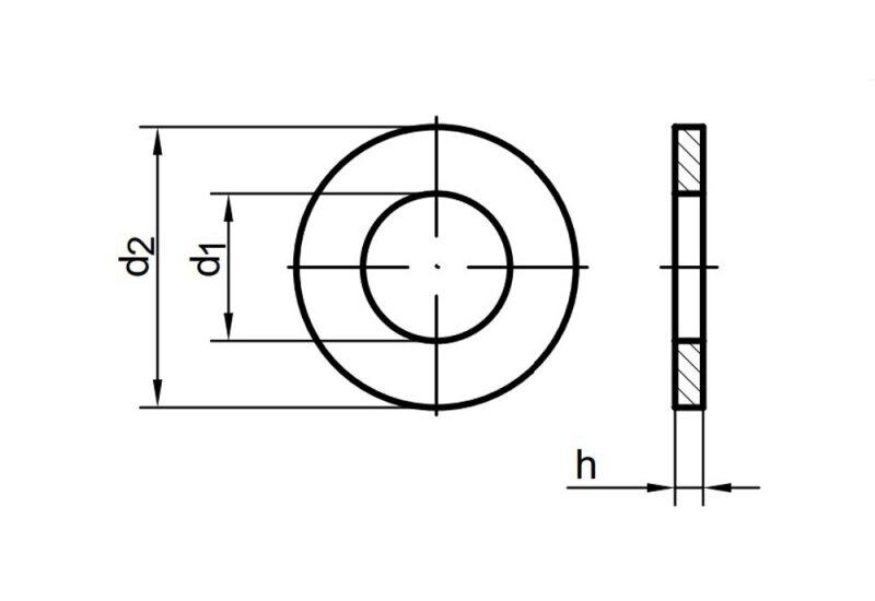 din 125 scheibe ohne fase a edelstahl schrauben expert hochwertige verbin 0 16. Black Bedroom Furniture Sets. Home Design Ideas
