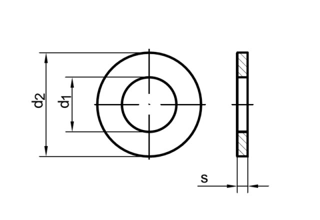 din 125 scheibe ohne fase a polyamid schrauben expert. Black Bedroom Furniture Sets. Home Design Ideas