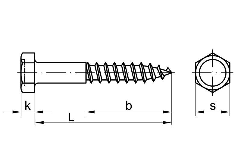 Stahl verzinkt 5 Stk Sechskantschraube /& Mutter DIN 601  M8 16 bis 160 mm